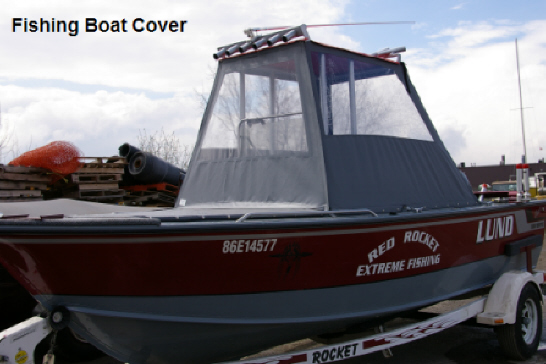 Fishing Boat Cover