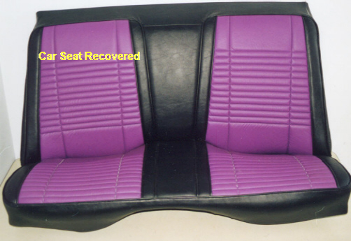 Car Seat Recovered